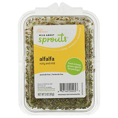 Wild About Sprouts Amazing Alfalfa - 3 Oz