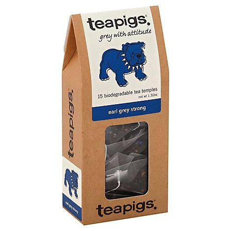 teapigs Tea Grey With Attitude Earl Grey Strong - 15 Count