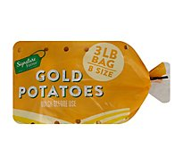 Signature Farms Potatoes Gold - 3 Lb