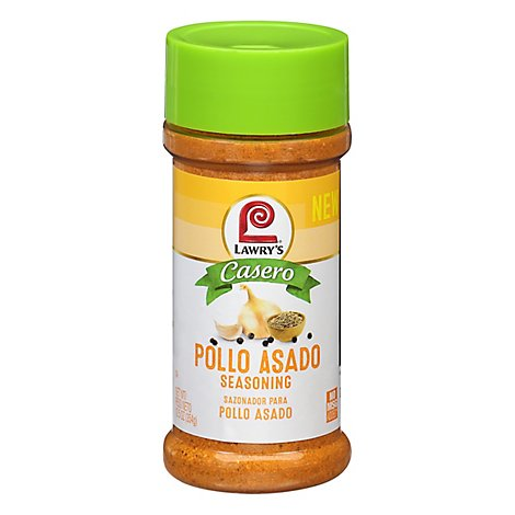 Lawrys Casero Seasoning Pollo Asado - 12.5 Oz