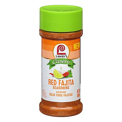 Lawrys Casero Seasoning Red Fajita - 11 Oz