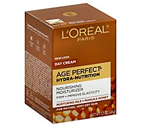 Loreal Paris Day Cream Age Perfect Hydra Nutrition Nurturing Oils + Manuka Honey - 1.7 Oz