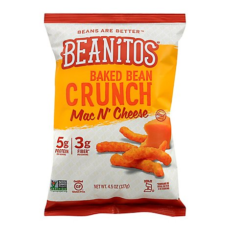 Beanitos Snack Mac N Chse Bkd Bn - 4.5 Oz