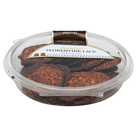 Cookie Crush Cookies Florentine Lace Chocolate - 6 Oz