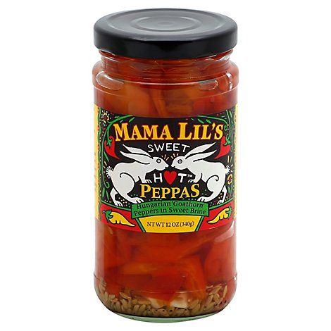 Mama Lils Sweet Hot Peppers In Vngr - 12 Oz