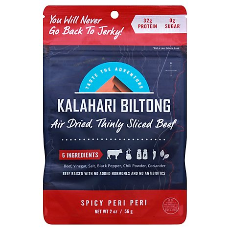 Biltong Is A South African Style Of Thinly Sliced Air Dried Beef, Made With - 2 Oz