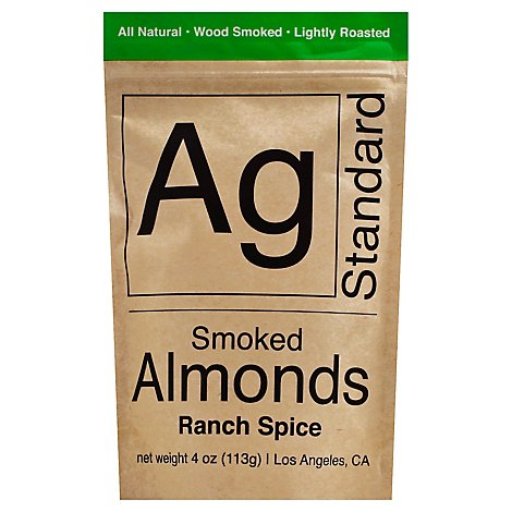 Agstandard Ranch Smoked Almonds - 4 Oz