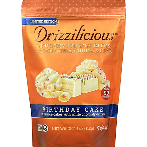 Drizzilicious Birthday Cake - 4 Oz
