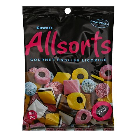Gustafs Allsorts Gourmet English Licorice - 6.3 Oz