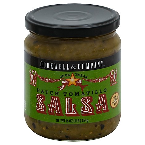 Cookwell & Company Salsa Hatch Tomatillo - 16 Oz