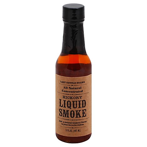 Lazy Kettle Liquid Smoke Natural - 5 Oz