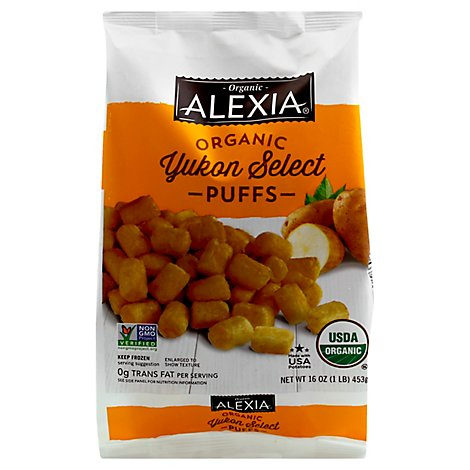 Alexia Potato Puffs Yukon Select - 16 Oz