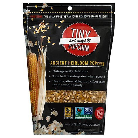 Tiny But Mighty Popcorn Popcorn Unpopped Ancient Heirloom - 1.25 Lb