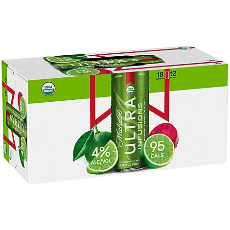 Michelob Ultra Lime Cactus In Cans - 18-12 Fl. Oz.