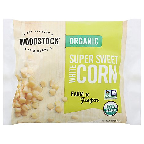 Woodstock Organic Corn Supersweet White - 10 Oz