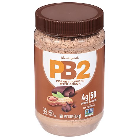 PB2 Peanut Butter Powdered With Premium Chocolate - 16 Oz