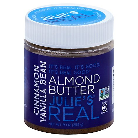 Julies Re Butter Almnd Cnnmn Van - 9 Oz