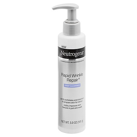 Neutrogena Rapid Wrinkle Repair Prep Cleanser - 5 Oz