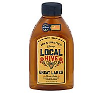 Local Hive 100% Raw & Unfiltered Us Great Lakes Honey - 24 Oz