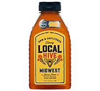 Local Hive 100% Raw & Unfiltered Us Midwest Honey - 12 Oz