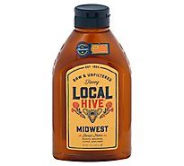 Local Hive 100% Raw & Unfiltered Us Midwest Honey - 24 Oz