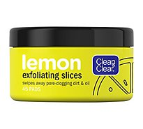 Clean & Clear Exfoliating Slices Lemon - 45 Count