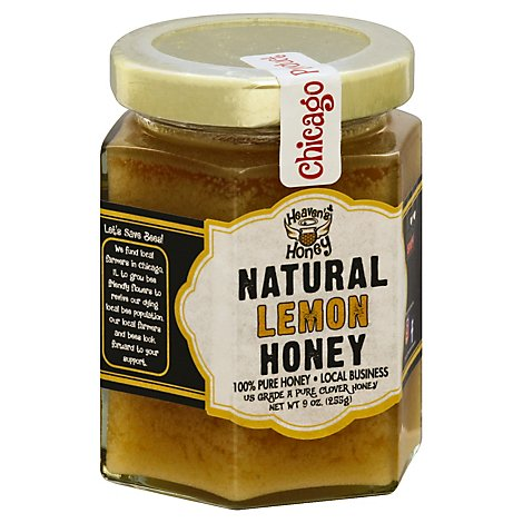 Lemon Honey Naturally Flavored Honey - 9 Oz