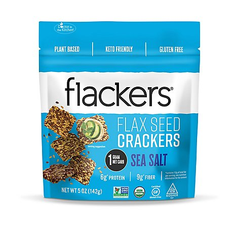 Doctor In Cracker Sea Salt Flackers - 5 Oz