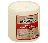 Boars Head Cheese Simplicity All Natural Picante Provolone - 0.50 LB