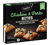 Signature SELECT Bites Chicken & Pesto 12 Count - 5.6 Oz
