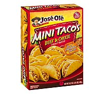 Jose Ole Beef Cheese Mini Taco - 16.2 Oz