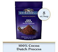 Ghirardelli Cocoa Pwdr Unsweetened Dutch - 8 Oz