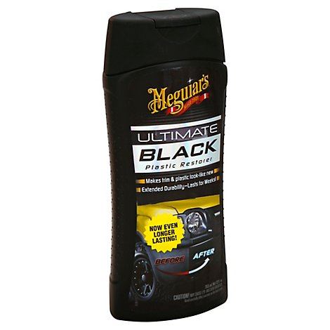 Meguiars Ultimate Black Plastic Restore - 12 Fl. Oz.