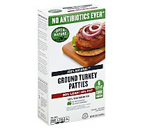 Open Nature Ground Turkey Hamburger Patties - 32 Oz.