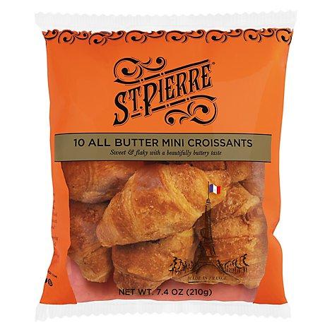 Croissants Mini All Butter 10ct - 7.4 Oz
