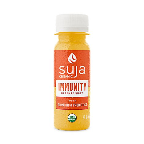 Suja Organic Juice Cold Pressed Immunity Defense Shot - 2 Fl. Oz.