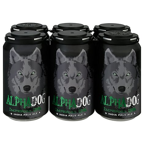 Laughing Dog Alpha Dog Imperial Ipa In Cans - 6-12 Fl. Oz.