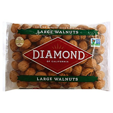 Diamond Walnuts Large - 2 Lb