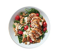 Plated Caprese Chicken And Quinoa Bowl With Spinach - 33.7 Oz