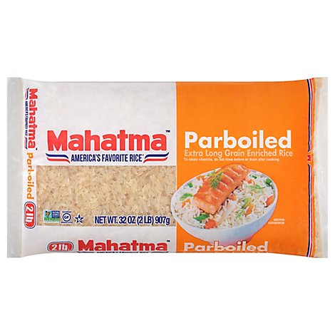 Mahatma Gold Rice Extra Long Grain Enriched Parboiled - 2 Lb
