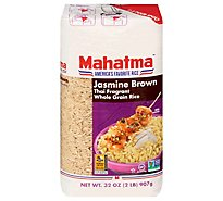 Mahatma Rice Jasmine Brown - 2 Lb