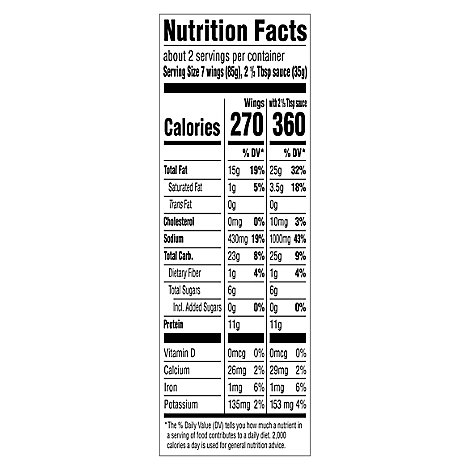 Field Roas Wings Fruffalo - 10 Oz