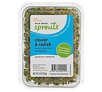 Wild About Sprouts Spicy Clover & Radish - 3 Oz