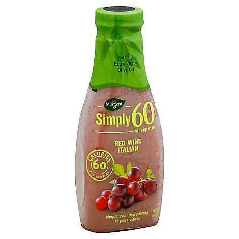 Marzetti Simply 60 Vinaigrette Red Wine Italian - 12 Fl. Oz.