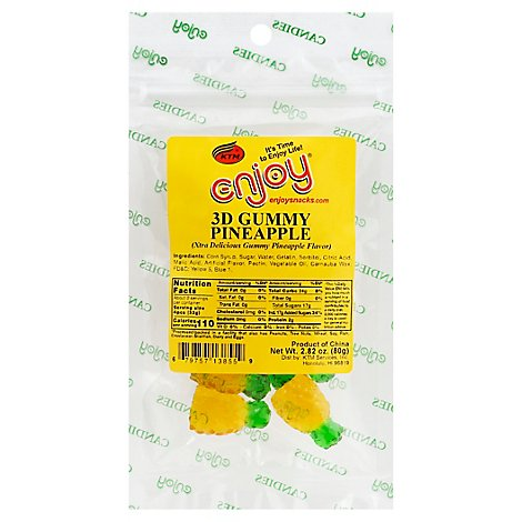 Enjoy Xd Gummy Pineapple - 2.82 Oz