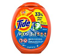 Tide PODS Detergent Pacs Original - 96 Count