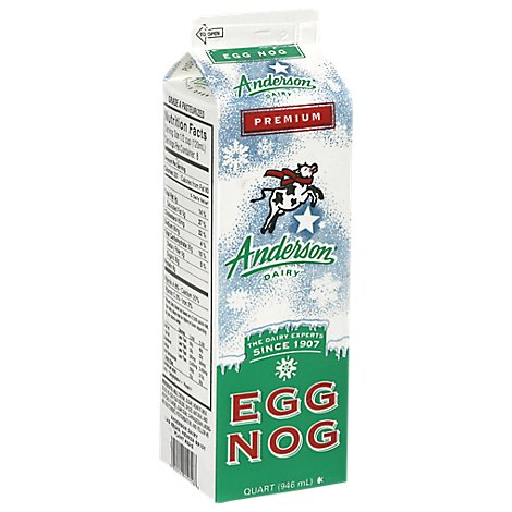 Anderson Eggnog Regular Refrigerated - 32 Fl. Oz.