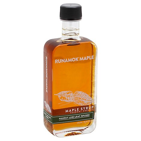 Runamok Maple Makrut Lime Leaf Infsd Maple Syrup - 8.45 Oz