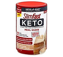Slimfast Keto Vanilla Cake Batter Meal Replacement Powder - 12.2 Oz
