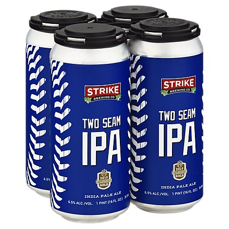 Strike Two Seam In Cans - 4-16 Fl. Oz.